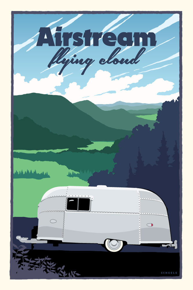 Airstream-Flying-Cloud-Poster-Scheele