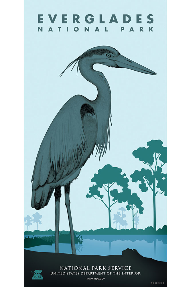 Everglades-National-Park-Poster-Scheele