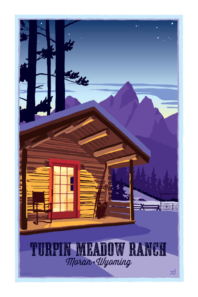 Turpin-Meadow-Ranch-Cabin-Poster-Scheele