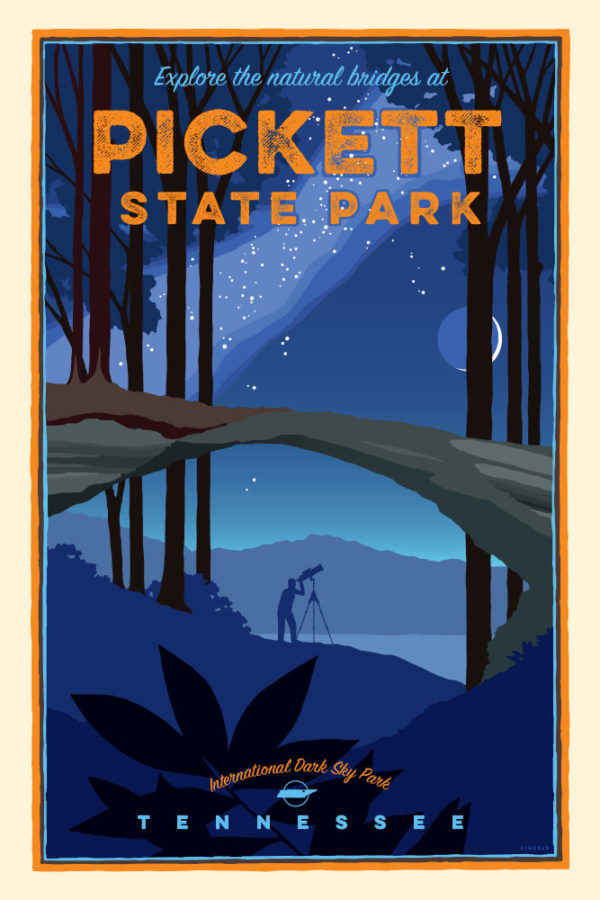 pickett-state-park-natural-bridge-poster-scheele