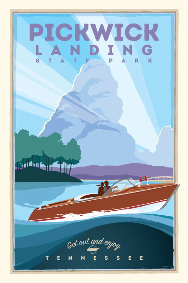 pickwick-landing-boating-poster-scheele